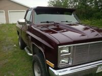 A Real Head Turner- Short Box Chevy K10 Pickup Truck