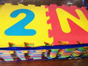 Alphabet & Numbers Foam Puzzle Mat (36 Piece)