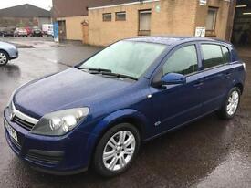 0606 Vauxhall Astra 1.4i 16v Active Blue 5 Door 45950mls MOT 12m