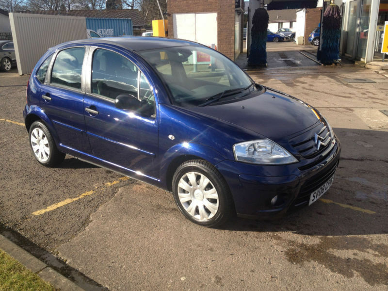 2008 citroen c3 1 6hdi 16v sx diesel in aberdeen gumtree. Black Bedroom Furniture Sets. Home Design Ideas