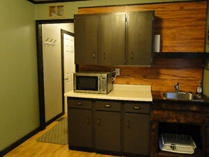 CHETWYND Furnished 1 bedroom bachelor suite OPEN IMMEDIATELY