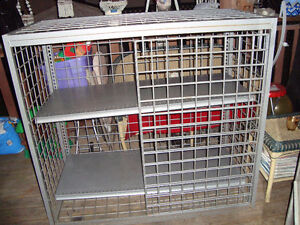 large steel cage