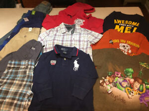 Lot Boys Clothing size 4T - Tommy Hilfiger, Polo Ralph Lauren,