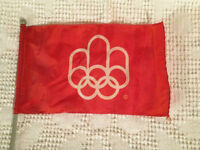 Montreal Olympics Mini Flag / Drapeau Olympique de Montreal City of Montréal Greater Montréal Preview