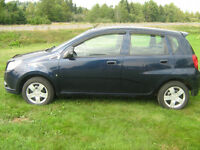 2010 Chevrolet Aveo Hatchback ( 86,000 KMS )