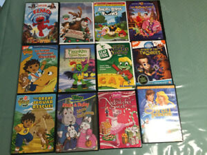 Kid's DVD's $1.00 each or $10 for all