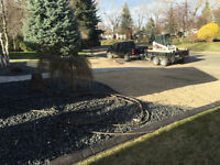 Landscaping, Sod Removal, Demolition, Patio Stones, Garage pads.