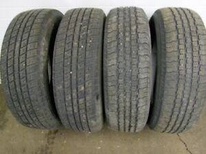 4-195/70R14 M+S ALL SEASON TIRES CAN SELL IN PAIRS