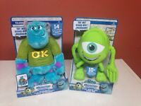 New in box monster universitys mike and sulley!!