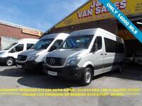 2014 14 MERCEDES-BENZ SPRINTER 2.1 313 BLUETEC TL9 BUS 136 BHP AUTOMATIC TRAVELI