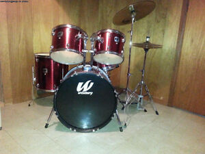 5 pc Westbury Drum Kit