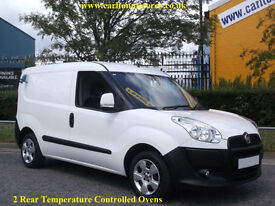 2010/ 60 Fiat Doblo Cargo Multijet [ Mobile Oven+ Standby ] Low Mileage only 29k