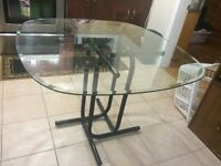 Glass Kitchen Table 50