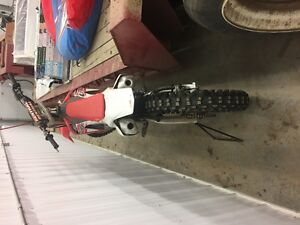 Barely Used 2016 Hondra CRF 250R