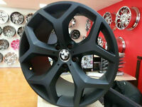 Staggred Black Rims for BMW X5 X6  Call : 905 673 2828