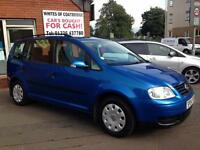 Volkswagen Touran 1.6 FSI ( 7st ) 2004MY S 7 SEATER MPV HANDY VEHICLE
