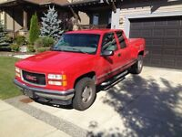98 gmc fully loaded/ new motor and tranny
