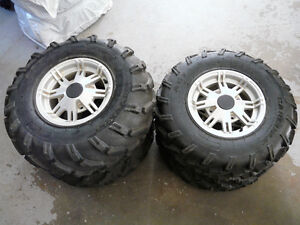 """26"""" Quad Tires and Rims"""