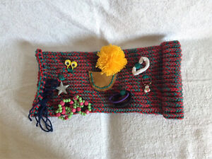 Loom Knitted Twiddle Muffs For Dementia Patients Edmonton Edmonton Area image 4