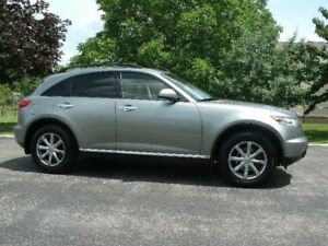 2008 Infiniti FX35: Only 111Kms Leather,Sunroof ,Auto, Must See!