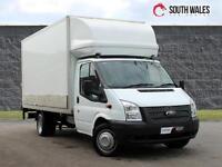 2014 FORD TRANSIT 350 BOX LUTON CARGO 1 OWNER LOW MILES