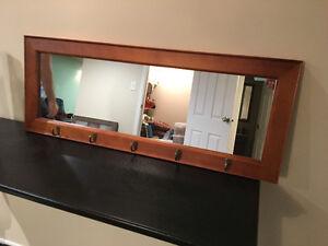 Pub Mirror, Stone Lamps, and Home Decor