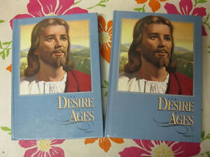 DESIRE OF AGES, 2 volume set, blue, HC, Deluxe