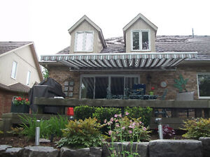 NEW Residential Awnings, Window Shades, Patio, Deck Enclosures.