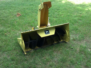 John Deere Snow Thrower / Blower Attachment Stratford Kitchener Area image 6