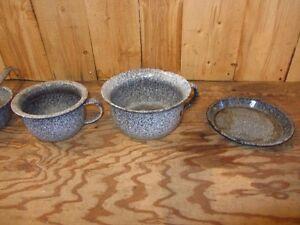 Antique /Vintage Graniteware Peterborough Peterborough Area image 2