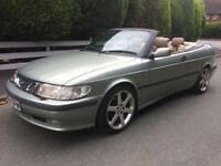 Saab 9-3 2.0 Turbo Convertible Automatic Low Miles Long Mot 1 Owner since 2001