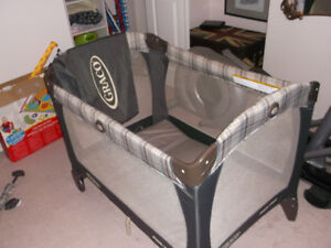 For Sale Graco Playpen and Door Jumper and Acitivy Station