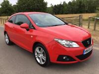2008 Seat Ibiza 1.4 16v Sport coupe low mileage 77,000 miles full history