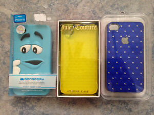 IPHONE 4/4S PHONE CASES - ALL 3 FOR FOR $8.00