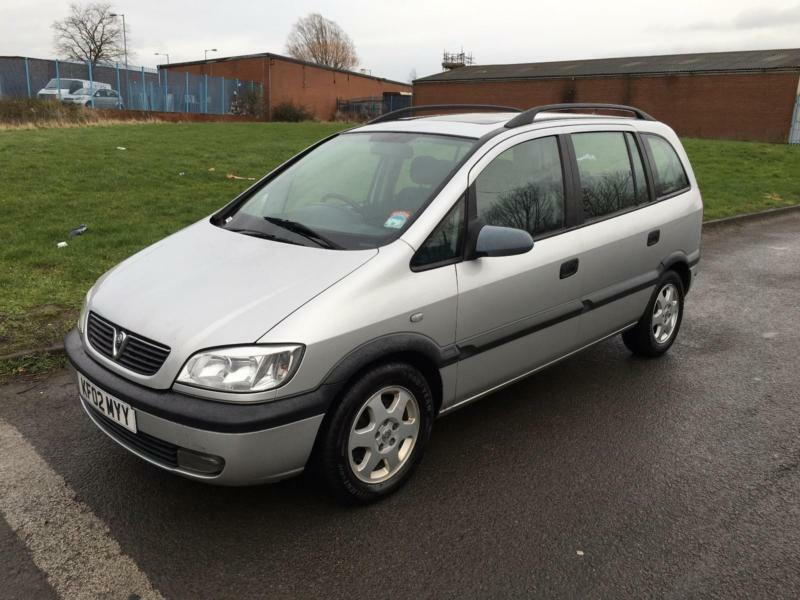 vauxhall opel zafira 2 0dti 16v elegance 2002 12 months mot in middlesbrough north. Black Bedroom Furniture Sets. Home Design Ideas