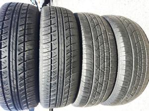 4 pneus été 185/65R15
