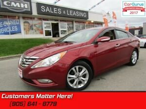2013 Hyundai Sonata Limited  LEATHER, SUNROOF, BLUETOOTH, HEATED