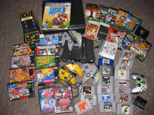 WTB Video Games and Collections