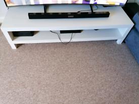 IKEA WHITE TV STAND