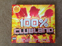 100% Clubland CD Authentic 4 Discs