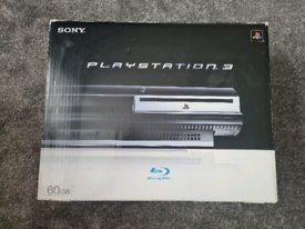 PS3 60GB CONSOLE BOXED WITH GAMES