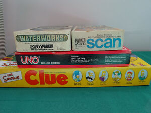 Scan, Waterworks, Uno Deluxe Edition games Cornwall Ontario image 1