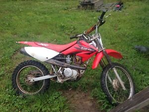 06 crf 100 works perfect