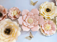 Premium Paper Flowers- Party, Wedding, Home Decor