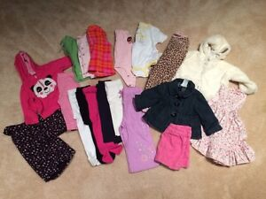 Lot of 6-12 month and 9 month girl clothes London Ontario image 1