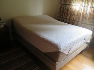 Serta I comfort Queen Mattress with Adjustable Base LIKE NEW