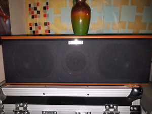 SURROUND.  3 PIECE SPEAKERS SET.   LIKE NEW CHEAP