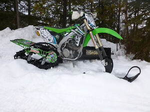 Timbersled Mountain Horse Snow Bike Kit