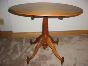 ANTIQUE FOLDING CARD TABLE Peterborough Peterborough Area image 1