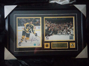 Brand new Signed Boston Bruins picture
